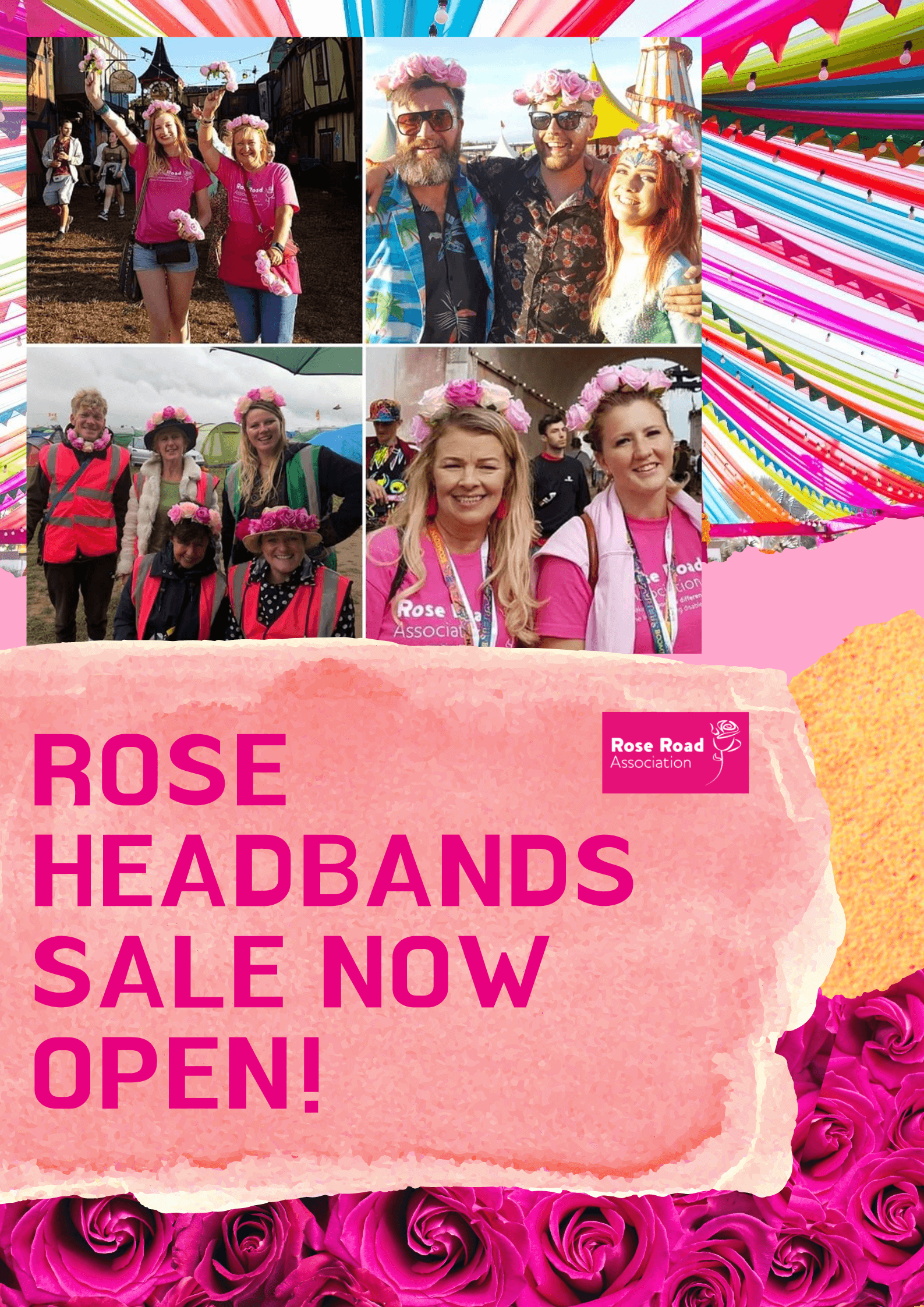 Headbands for sale poster
